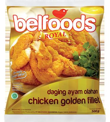 Hasil gambar untuk Belfoods Chicken Golden Fillet