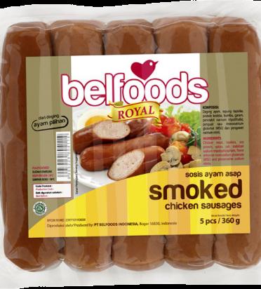 BF Royal Smoked Chicken Sausages