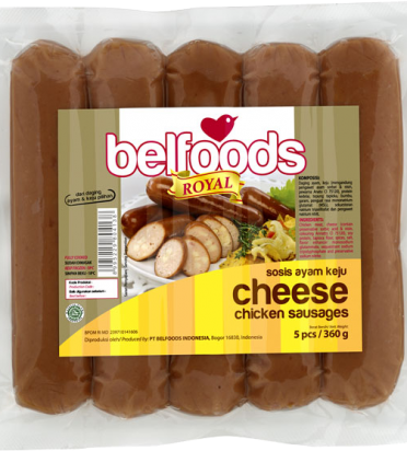 BF Royal Sosis Ayam Keju