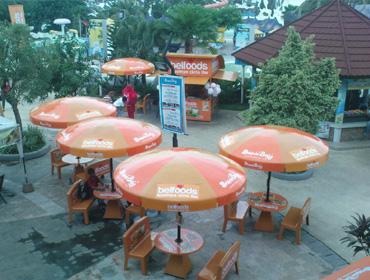 Rekreasi air salah satu pilihan mengisi libur Lebaran